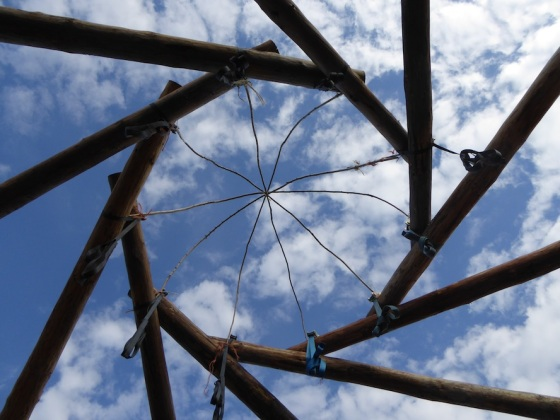 Reciprocal roof workshop